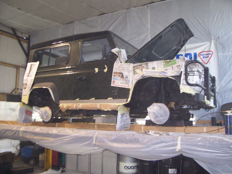 Underbody protection